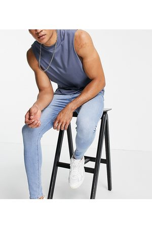 ASOS Men Skinny - Spray on jeans with power stretch in light wash
