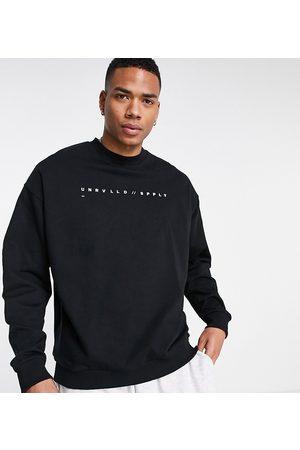 ASOS Men Sweatshirts - Oversized sweatshirt with logo print in
