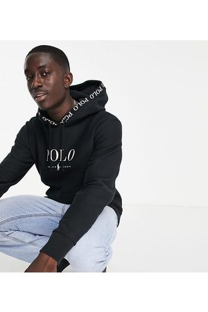Polo Ralph Lauren Men Sweatshirts - X ASOS exclusive collab hoodie in with chest logo and hood logo taping