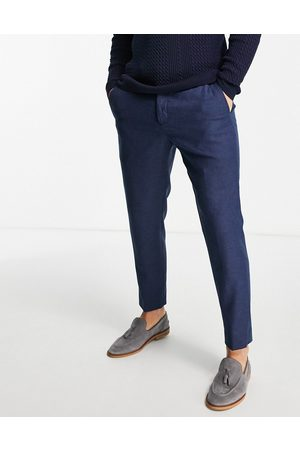 Twisted Tailor Moonlight trousers in navy