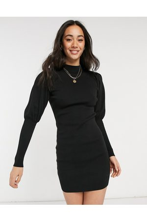 ASOS Mini dress with volume sleeve in