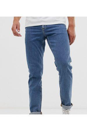 ASOS Slim jeans in flat mid wash