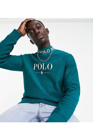 Polo Ralph Lauren X ASOS exclusive collab sweatshirt in with chest logo and neck logo taping