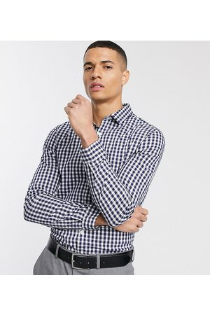 ASOS Men Shirts - Slim fit work check shirt in