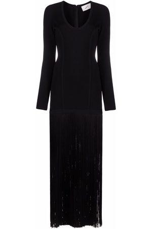 COPERNI Women Knitted Dresses - Fringed knit long-length dress
