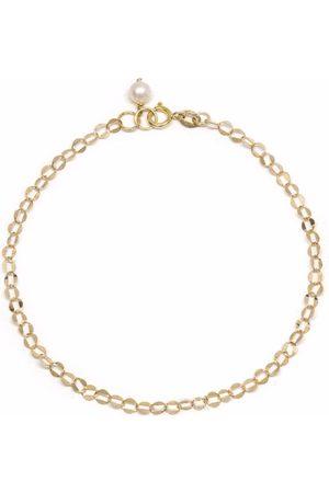 POPPY FINCH 14kt yellow Oval Shimmer bracelet