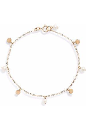 POPPY FINCH 14kt yellow Confetti Station pearl bracelet