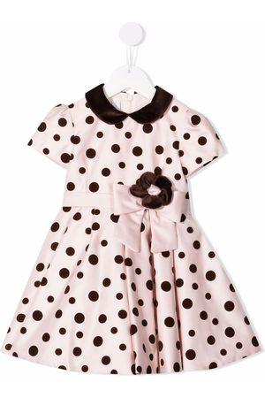 COLORICHIARI Polka-dot print dress
