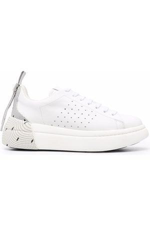 RED(V) Women Sneakers - Bowalk point d'esprit sneakers