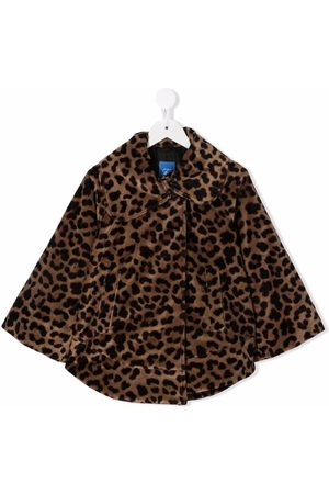 FAY KIDS Leopard-print