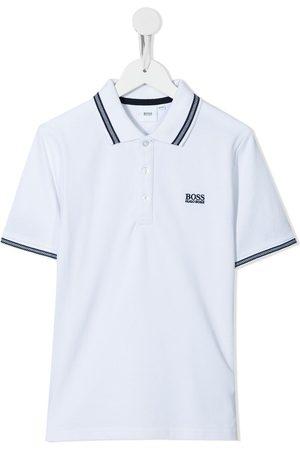 HUGO BOSS Embroidered-logo polo shirt
