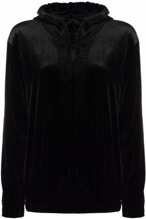 Norma Kamali Long-sleeve hoodie top