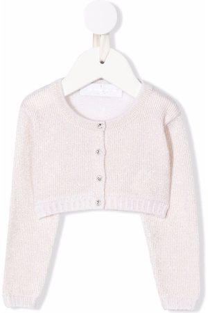 COLORICHIARI Baby Cardigans - Ribbed-knit cardigan