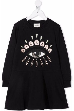 Kenzo Eye-print dress