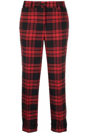 P.a.r.o.s.h. Check tailored trousers