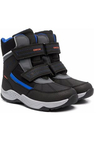 Geox Touch-strap high-top sneakers