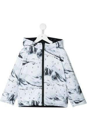 Paul Smith Reversible hooded padded jacket