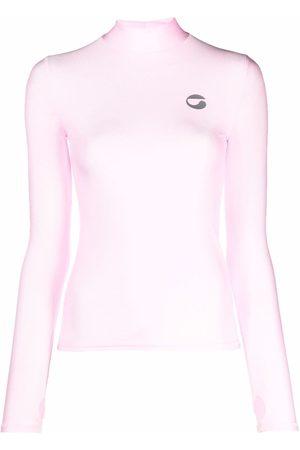 COPERNI Logo-print high-neck top