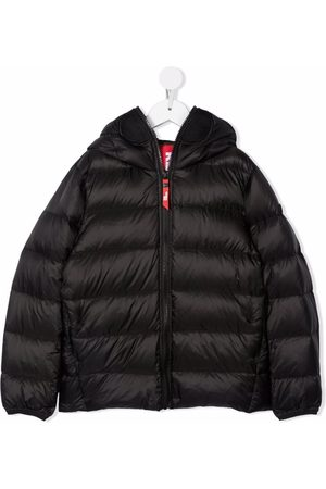 Ai Riders on the Storm Pompom-detail padded coat