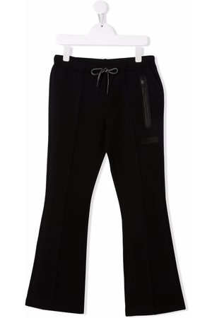 Il gufo Bonded cropped flared trousers