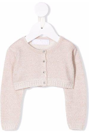 COLORICHIARI Ribbed-knit cardigan
