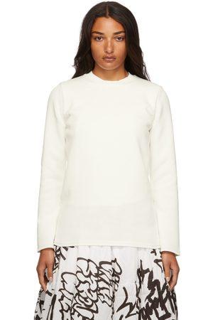 Comme des Garçons Knit Backless Long Sleeve T-Shirt