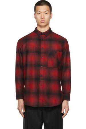 Saint Laurent Wool Flannel Check Shirt