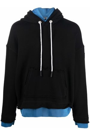 Palm Angels PXP DOUBLE LAYER HOODY WHITE