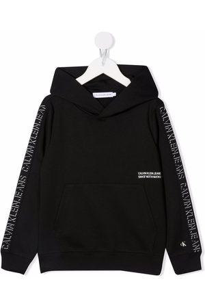 Calvin Klein Logo tape hoodie