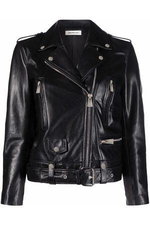 There Was One Zip-fastening biker jacket