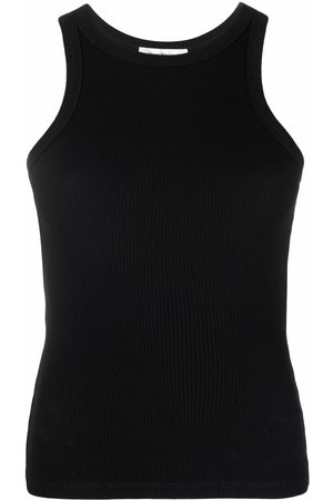 There Was One Ribbed jersey racerback tank top