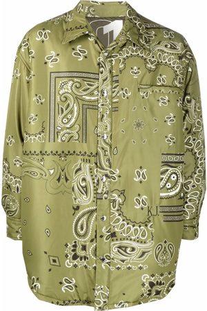 Khrisjoy Men Sports Jackets - Bandana-print track jacket