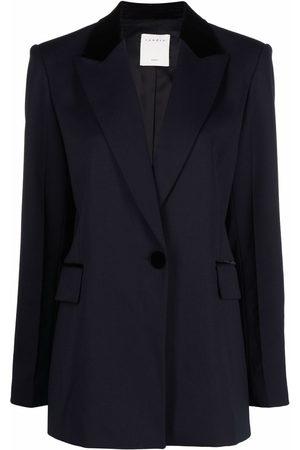 Sandro Peak-lapel single-breasted blazer
