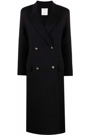 Sandro Mystere double-breasted coat