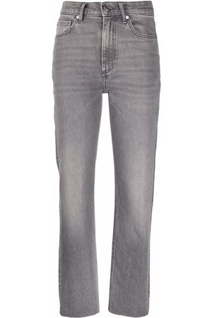 Sandro Washed slim-fit jeans