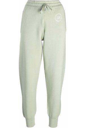 Sandro Texas logo-print track trousers