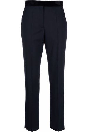 Sandro Pressed-crease tailored trousers