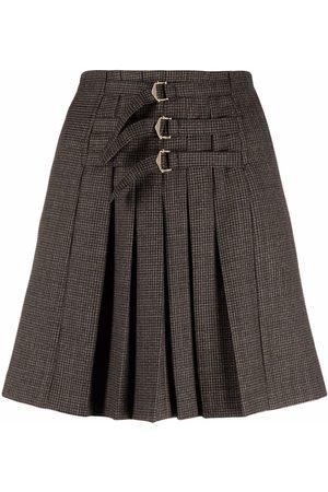 Sandro Yolanda pleated mini skirt