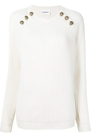 P.a.r.o.s.h. Ribbed button jumper