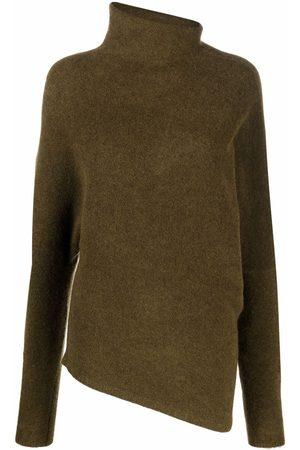 Proenza Schouler Wool Blend Twisted Turtleneck