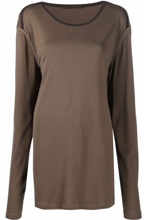 LOUIS VUITTON Women Long Sleeve - Pre-owned dropped shoulders long-sleeved top