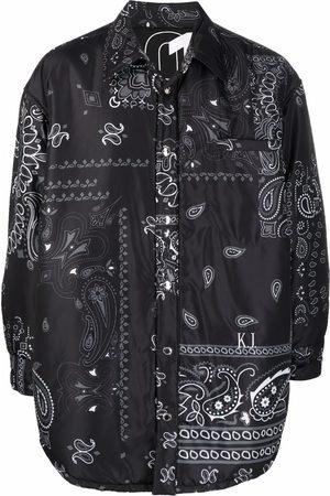Khrisjoy Bandana-print track jacket