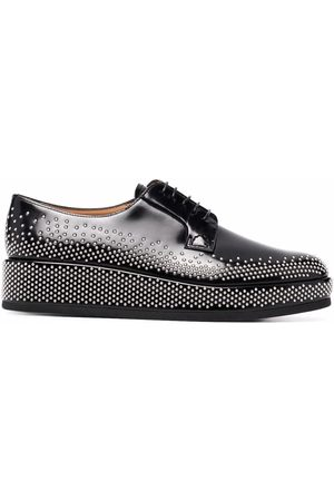Church's Stud-embellished leather oxford shoes