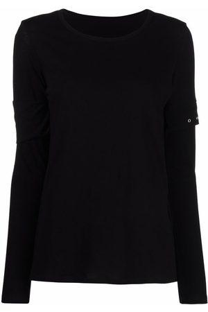YOHJI YAMAMOTO Women Long Sleeve - Layered-sleeve top