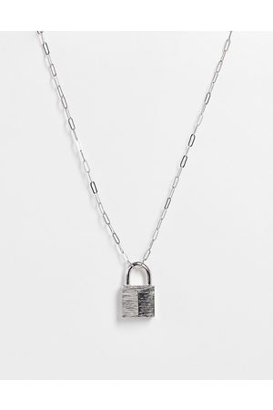 ASOS Women Necklaces - Necklace with padlock pendant in tone
