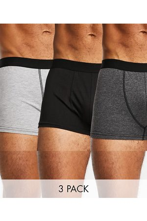 New Look Men Briefs - Trunks with contrast waistband in multi