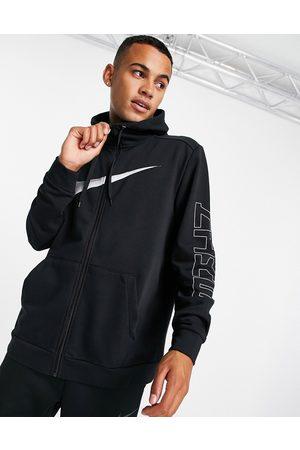 Nike Men Sports Jackets - Sport Clash woven hooded jacket in