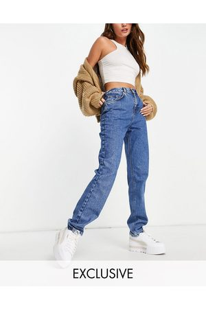 Reclaimed Inspired 81' organic cotton straight leg jean in mid