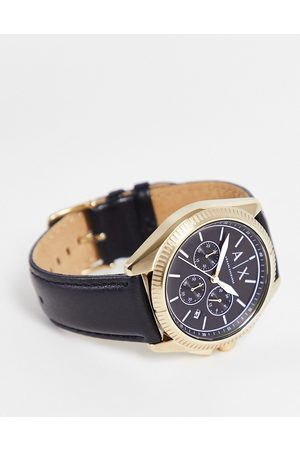Armani Mens giacomo leather watch in AX2854