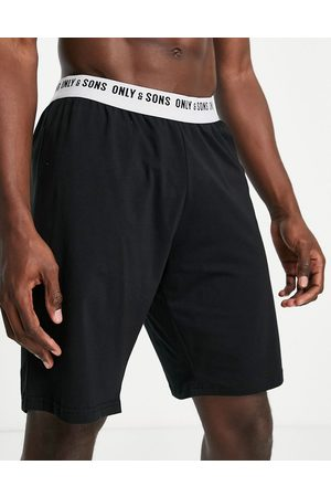 Only & Sons Men Shorts - Lounge shorts with logo waistband in